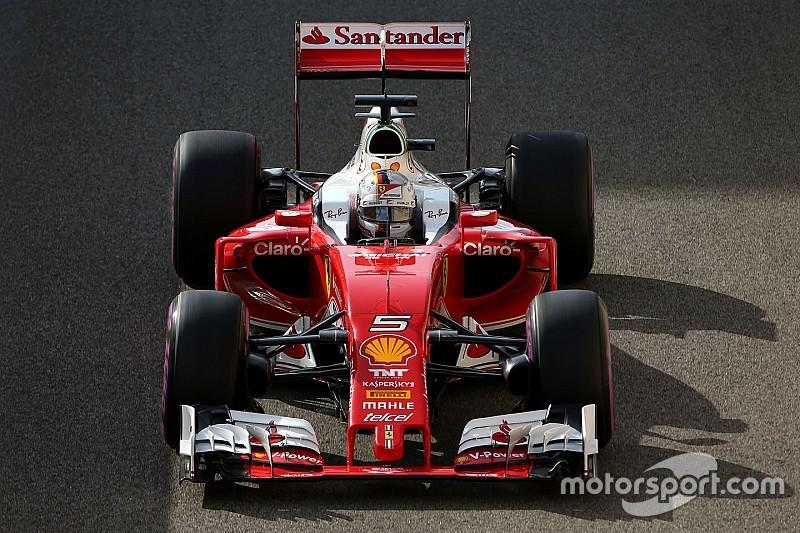 Vettel says Verstappen's lock-up cost him third on the grid