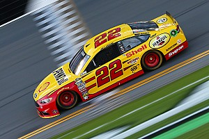 NASCAR Sprint Cup Preview After three runner-up results this week, Logano wants to defend 500 crown