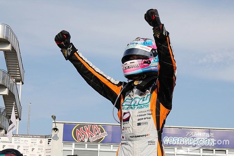 スーパーフォーミュラ第5戦岡山レース2:1周目にピットインの好戦略。国本が初優勝