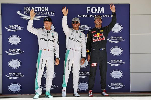 Formula 1 US GP: Hamilton scorches to pole ahead of Rosberg