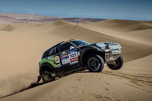 Cross-Country Rally Stage report Silk Way Rally 2016 – Al Rajhi retains third overall after Stage 10 in the Chinese desert