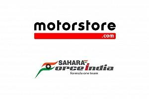 Motorstore.com et Sahara Force India Formula One Team officialisent un partenariat d'e-commerce
