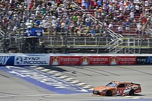 NASCAR XFINITY Interview Suarez overcame many hurdles on the road to first NASCAR Xfinity win
