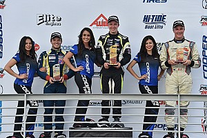 USF2000 Race report Thompson claims first win at Barber