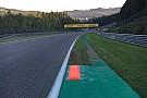 Formula 1 Spa installs new kerb for Belgian GP race