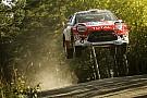 WRC Finland WRC: Meeke takes early lead as Latvala and Tanak lose time
