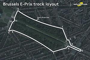 Формула E Новость Представлена конфигурация трассы Формулы Е в Брюсселе