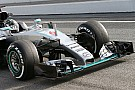 Mercedes to run new nose on third F1 test day
