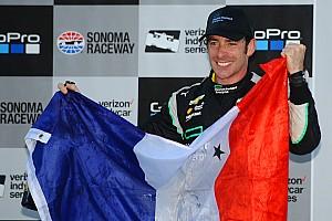 IndyCar 速報ニュース インディカー新王者のパジェノー「ジル・ド・フェランは僕のヨーダ」