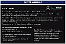 Formula 1 Mercedes places classified advert for F1 race driver in Autosport