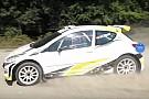 World Rallycross Video, primi passi per la rallycar elettrica di Manfred Stohl