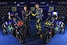 Yamaha dévoile sa MotoGP pour la saison 2017