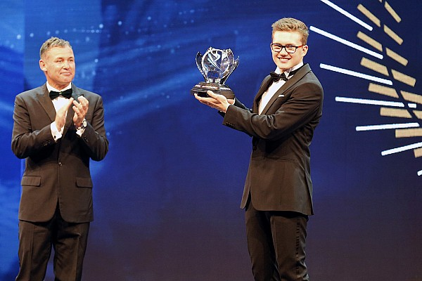 World Rallycross Breaking news Hansen named 2016 Rookie of the Year at FIA Gala