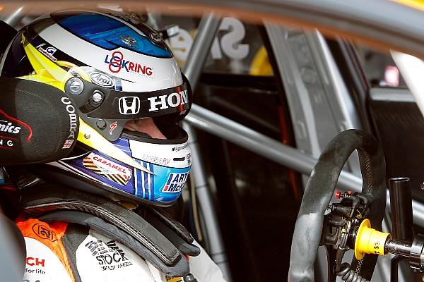BTCC Qualifying report Rockingham BTCC: Shedden clinches pole in treacherous conditions