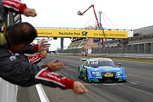 DTM Race report Nurburgring DTM: Mortara passes Auer to claim Race 2 win