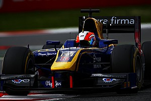 GP2 Race report Barcelona GP2: Lynn takes victory as Giovinazzi crashes hard