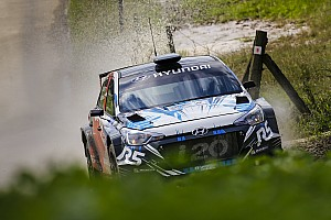 WRC Breaking news New Generation i20 R5 fine-tuned in France as customers get in the driving seat