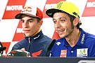 """MotoGP Rossi """"feels the same"""" about Marquez clash one year on"""