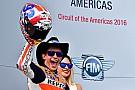 Austin MotoGP: Marquez dominates again, Rossi crashes out