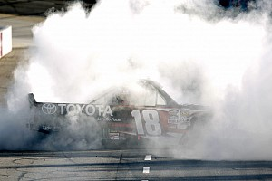 NASCAR Truck Race report Kyle Busch scores first Martinsville win in contact-filled Truck race