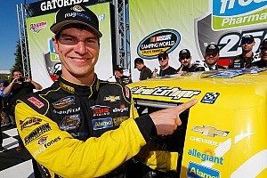 NASCAR Truck Race report Grant Enfinger scores first career Truck win at Talladega