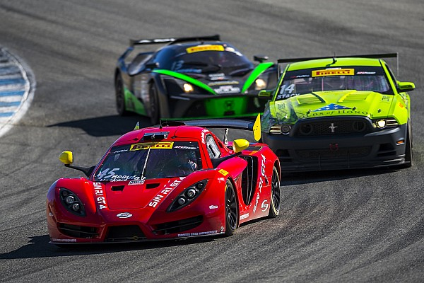 PWC Race report Heckert holds off Aquilante for GTS victory