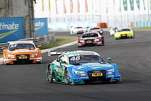 DTM Race report Hungaroring DTM: Mortara leads all-Audi top six in Race 1