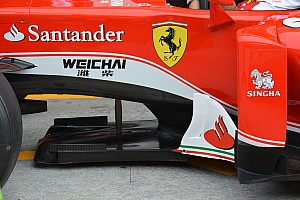 Teknik Güncelleme: Ferrari SF16-H splitter