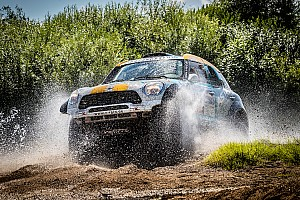 Cross-Country Rally Leg report Silk Way Rally 2016 – Al Rajhi places MINI ALL4 Racing in second place overall after Day 3