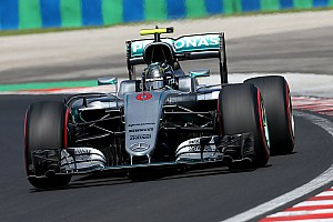 Formula 1 Practice report Hungarian GP: Rosberg fastest in FP2 as Hamilton crashes