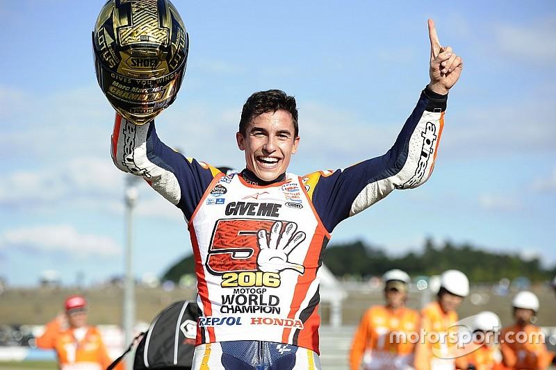 MotoGP日本GP決勝:波乱のもてぎ制したマルケス、MotoGPチャンピオン戴冠!