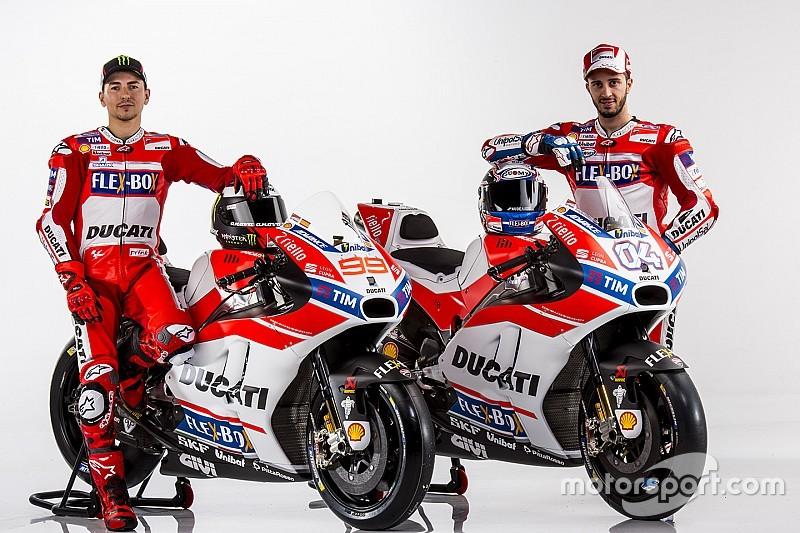 Ducati Unveils Lorenzos 2017 MotoGP Livery