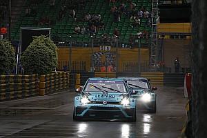 TCR Qualifiche Vernay in pole davanti a Comini nel diluvio di Macao