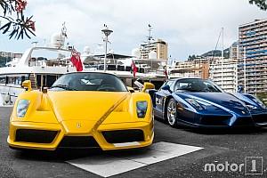 Auto Actualités Photos - Deux Ferrari Enzo sur le port de Monaco