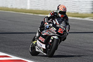 Moto2 Qualifying report Catalunya Moto2: Zarco takes first pole of 2016, Lowes falls
