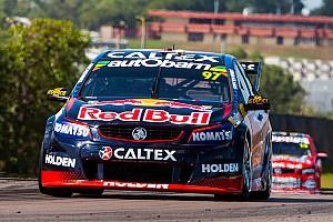 Supercars Qualifying report Darwin V8s: Early lap hands van Gisbergen pole