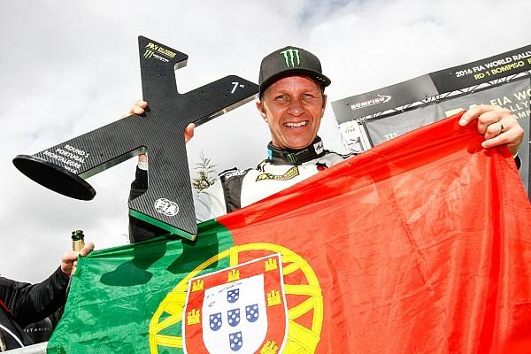 World Rallycross Race report Portugal WRX: Solberg wins, Loeb fifth on debut