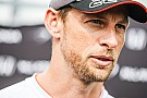 Button goes to hospital with eye irritation