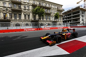 GP2 Qualifying report Baku GP2: Giovinazzi gets first pole in postponed qualifying