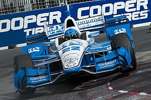 """IndyCar Breaking news Pagenaud admits being caught out by """"Toronto Roulette"""""""