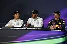 Formula 1 Malaysian GP: Post-qualifying press conference