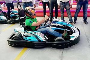 Kart Breaking news Cricket legend Tendulkar inaugurates karting track in Mumbai