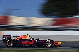 GP2 Testing report Gasly quickest again on final day of Barcelona test
