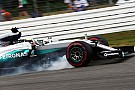 Formula 1 Mercedes fined for unsafe release, no sanction for Hamilton