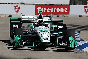 IndyCar Qualifying report Pagenaud leads Penske 1-2-3 for Detroit race 1