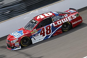 NASCAR Sprint Cup Practice report Busch and Carpentier collide in practice, Johnson quickest