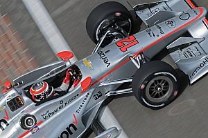 IndyCar Practice report Team Penske dominates third practice at IMS
