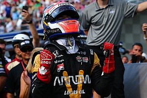 IndyCar Breaking news Hunter-Reay praises Hinchcliffe for