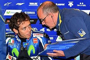 MotoGP Practice report Misano MotoGP: Rossi leads Espargaro in crash-filled first practice