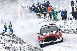 WRC Leg report Abu Dhabi Total WRT enjoys a final flourish at Rally Sweden